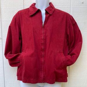 GAP Men's Red Cargo Jacket Sz S